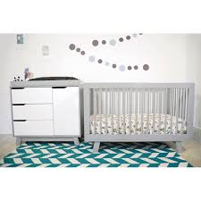 Convertible Crib Reviews by Bedroom Babyletto Hudson Crib 3 In 1 Convertible Crib In Two Tone