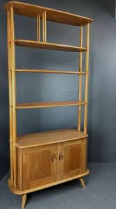 Ercol Bookcase Ercol Retro Vintage Mid Century Room Divider Bookcase Shelves