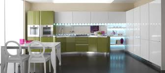 Kitchen Laminate Design by Contemporary Kitchen Laminate Lacquered High Gloss Spazio