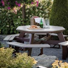How To Build A Wooden Octagon Picnic Table by Best 25 Octagon Picnic Table Ideas On Pinterest Picnic Table