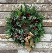 fresh wreaths country wreath 26 inch fresh wreaths
