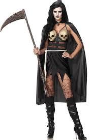 Grim Reaper Halloween Costume Grim Reaper Costume Womens Grim Reaper Costume 3wishes