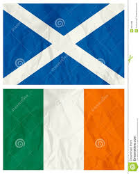 Ireland Flag Scotland And Ireland Flag Stock Vector Image Of Drawing 8551388
