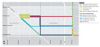 Map Of Phoenix Metro Area by Metro Light Rail Picking Phoenix Glendale Routes Arizona