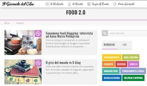 si e social ristorazione e social media marketing in una nuova rubrica food 2 0