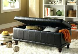 storage bench with arms threshold storage bench with arms