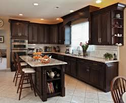 dark chocolate kitchen cabinets budget kitchen cabinets vibrant 15 love this budget kitchen remodel