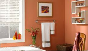 painting ideas for bathroom orange bathroom home design plan
