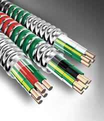 mc metal clad cable series meet ul nec and rohs standards