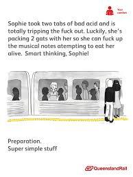 Queensland Rail Meme - super simple stuff
