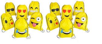 yellow emoji smile face lollipop sucker 1 dozen amazon com