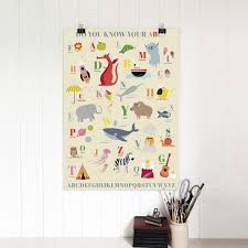 5 sheets of children u0027s a b c wrapping paper dotcomgiftshop
