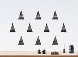 black christmas tree wall decals river oak studio black christmas tree wall decals
