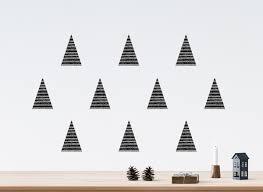 black christmas tree wall decals river oak studio