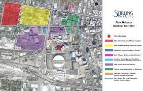 Street Map Of New Orleans by New Orleans U0027 Growing Medical Corridor U2013 Stirling Properties
