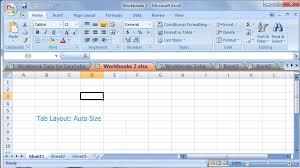 tabs for excel open multiple workbooks in a tabbed window