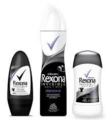 Preferidos Antyrespiranty REXONA Invisible black+white z przełomową  @DL57