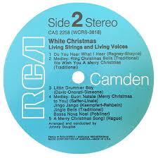 white christmas living strings u0026 living voices vinyl u2013 vinylmailer