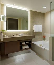 Lighted Bathroom Mirrors Ideal Lighted Bathroom Mirror Home Design Concept