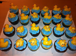 it u0027s sweet baby shower cupcakes rubber duck