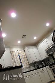 Under Cabinet Fluorescent Light by Recessed U0026 Under Cabinet Lighting U2013 Diystinctly Made