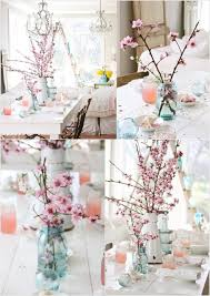 accessories lovely dining table decoration using pink cherry