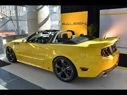 Black Mustang Saleen 2014 Ford Mustang Saleen 302 Black Label Supercharged