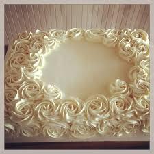 buttercream rose sheet cake cake ideas pinterest cake