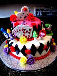 Mad Hatter Decorations Alice In Wonderland Mad Hatter Birthday Cake Cakecentral Com