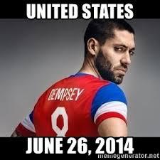Us Soccer Meme - i believe that our soccer team sucks us soccer clint dempsey