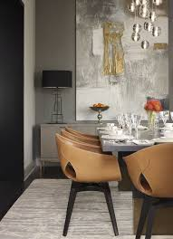 Fabric Chairs For Dining Room by Best 25 Leather Dining Room Chairs Ideas On Pinterest Modern