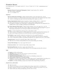 Superintendent Resume Stephen Aston Construction And It Professional Resume And