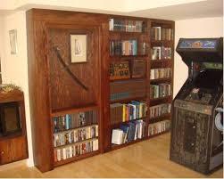 Minecraft Secret Bookshelf Door Hidden Door Bookcase Minecraft Levertrap Minecraft Secret