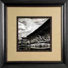 when framing black and white photos or art you do not always have
