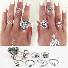 midi ring set aliexpress buy 8pcs set fashion vintage bohemian turkish