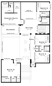 houses narrow house plan narrow lot floor plans simple modern