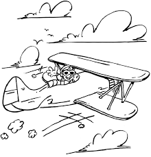 airplane coloring pages 3 vbs airplanes color