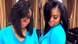 which hair is better for sew in bob full sew in weave simple bob with leave out start to finish cut