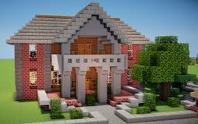Brick Colonial House Minecraft Colonial Home By Trinapple On Deviantart