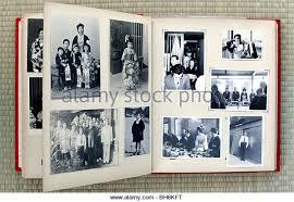 antique photo albums the album of the families stock photos the album of the families