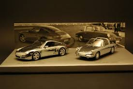 porsche chrome set porsche 911 targa chrome 1 43 minichamps wap020set16