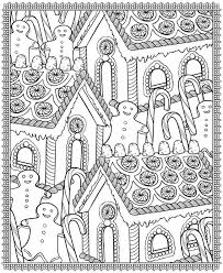 dover publications crazy christmas 3d coloring book