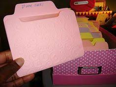 Jennifer Mcguire Craft Room - handmade card organization bags and boxes pinterest