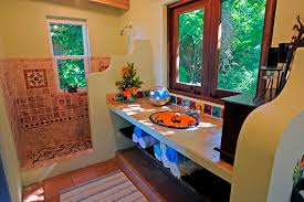 Mexican Bathroom Ideas Mexican Style Bathrooms Bright And Colourful Bathroom With