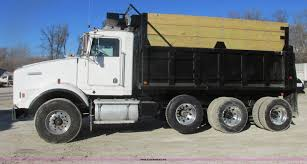 kw t800 for sale 1992 kenworth t800 dump truck item h7744 sold february