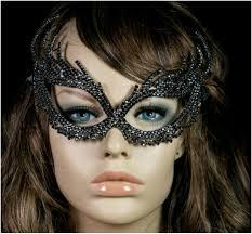 halloween crystal ball with head nadelie modern cat eye masquerade mask black crystal u2013 beloved