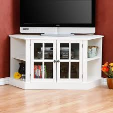 target glass door cabinet marvelous white corner tv stand with glass doors pics of for flat