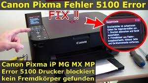 cara reset printer canon ip 2770 eror 5100 canon pixma fehler 5100 error beheben fix indexband reinigen