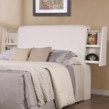 charming and fascinating white king headboard marku home design