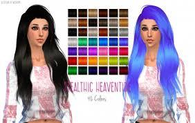 sims 4 blue hair hair retextures at nessa sims sims 4 updates